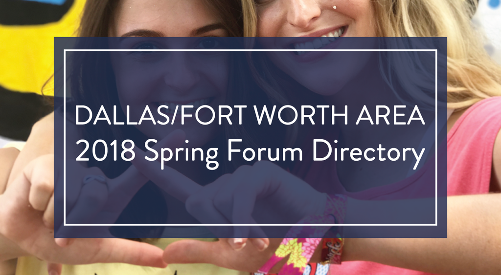 2018 Guide to Alumnae Panhellenic Spring Forum Meetings in Dallas/Fort Worth