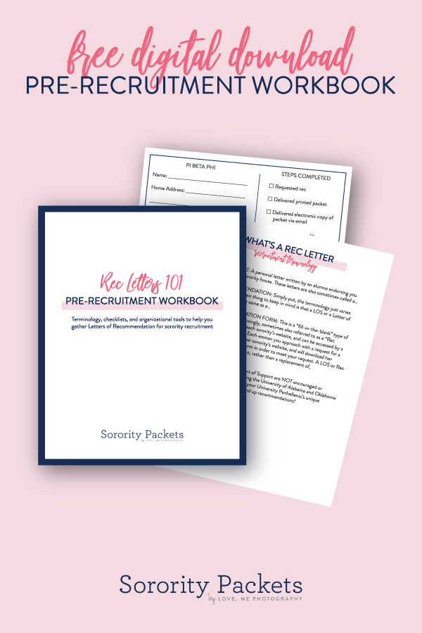 the heart behind everything we do at sororitypacketscom is to help simplify and de mystify the sorority recruitment process as much as we possibly can