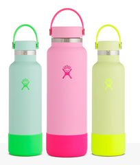 Different Colored Hydro Flask Water Bottles