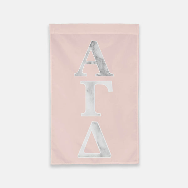 Alpha Gamma Delta Vertical Greek Letter Flag