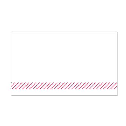 Big Name sorority packet mailing label shown on Blossom presentation envelope