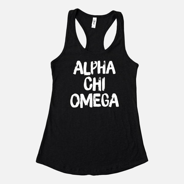 Alpha Chi Omega Graphic Sorority Tank