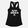 Alpha Omicron Pi Graphic Sorority Tank