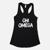 Chi Omega Graphic Sorority Tank