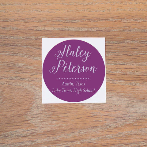 Delicate Lace Personal Stickers