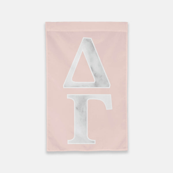 Delta Gamma Vertical Greek Letter Flag
