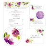 Graceful Bouquet sorority packet design overview