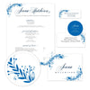 Garden Branches Sorority Packet shown in Cobalt