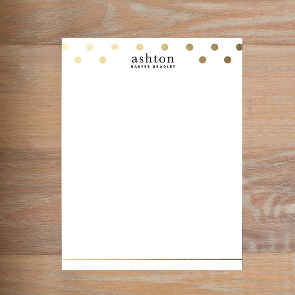 Golden Dots letterhead version 2