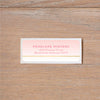 Gradient Confetti return (home) address label
