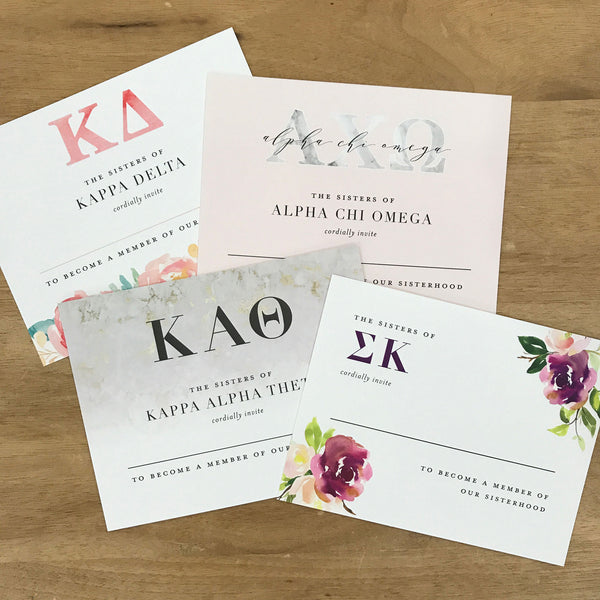 Marble & Blush Bid Cards