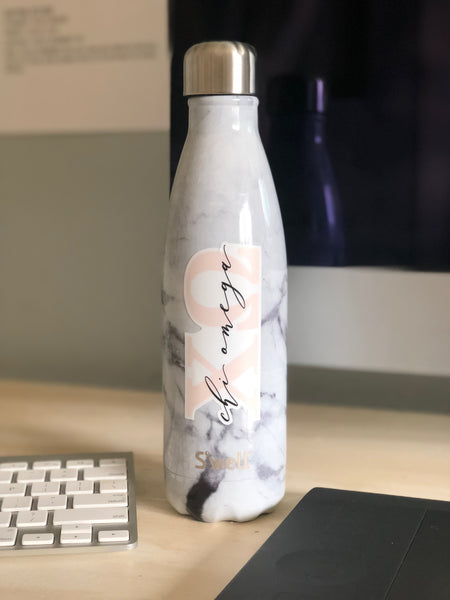 Blush Sorority Bottle Decal