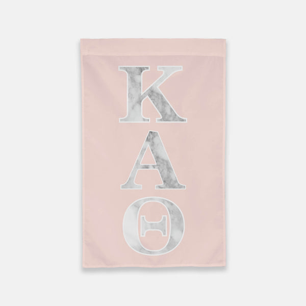 Kappa Alpha Theta Vertical Greek Letter Flag