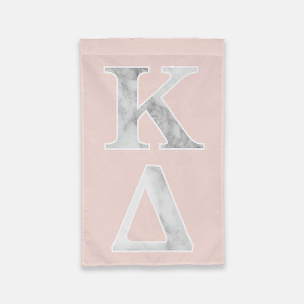 Kappa Delta Vertical Greek Letter Flag