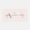 Alpha Gamma Delta Marble & Blush License Plate