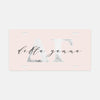 Delta Gamma Marble & Blush License Plate