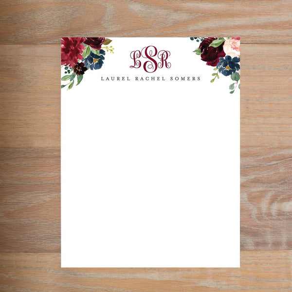 Moody Garden social resume letterhead without formatting shown in Wine version 2
