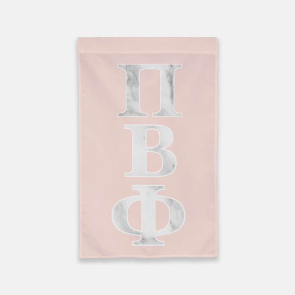 Pi Beta Phi Vertical Greek Letter Flag