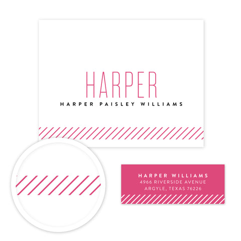 Big Name Stationery Set - Small