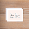 Sigma Kappa Marble & Blush Sorority Note Cards