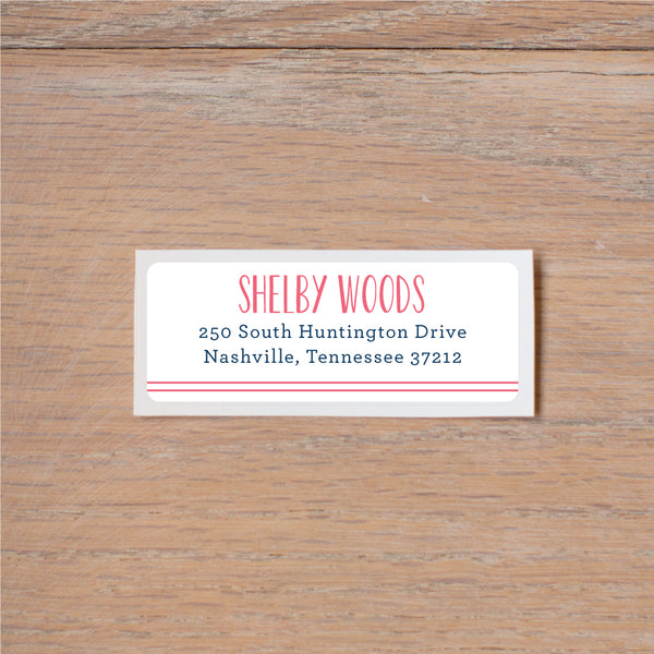 Simply Preppy (Home) Address Labels