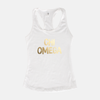 Chi Omega Gold Foil Sorority Tank