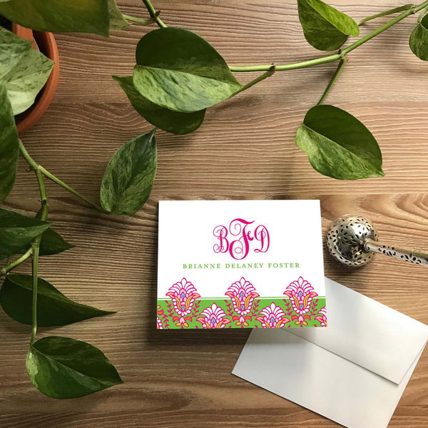 Bright Garden Folded Note Cards