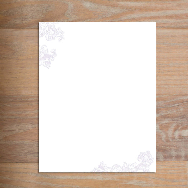 Delicate Lace letterhead version 3