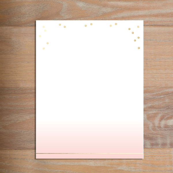 Gradient Confetti letterhead version 3