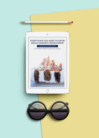 Everything You Need to Know About Sorority Recruitment eBook