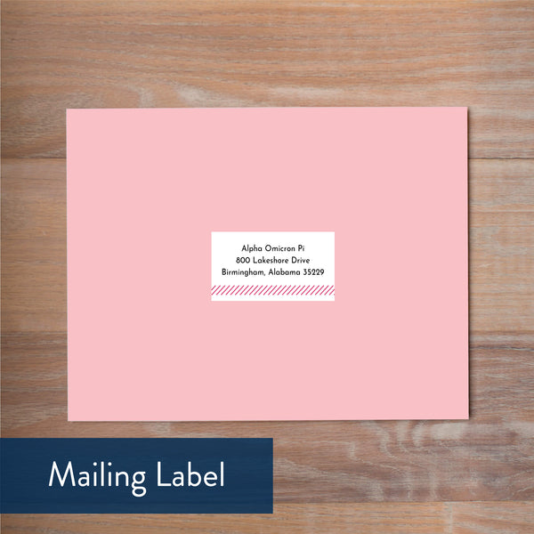 big name mailing label
