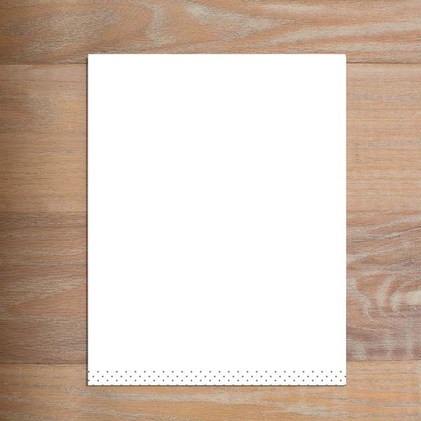 Monogram Block letterhead version 3