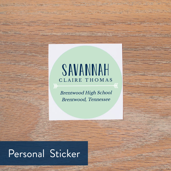 Boho Chic personal sticker