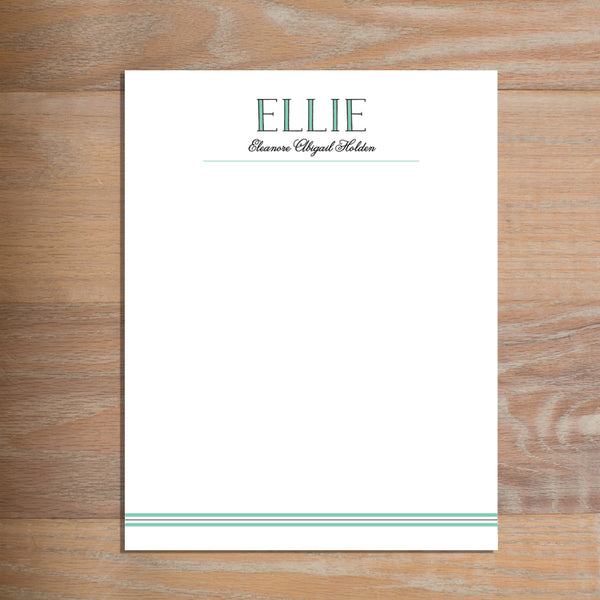 Preppy Name letterhead version 2