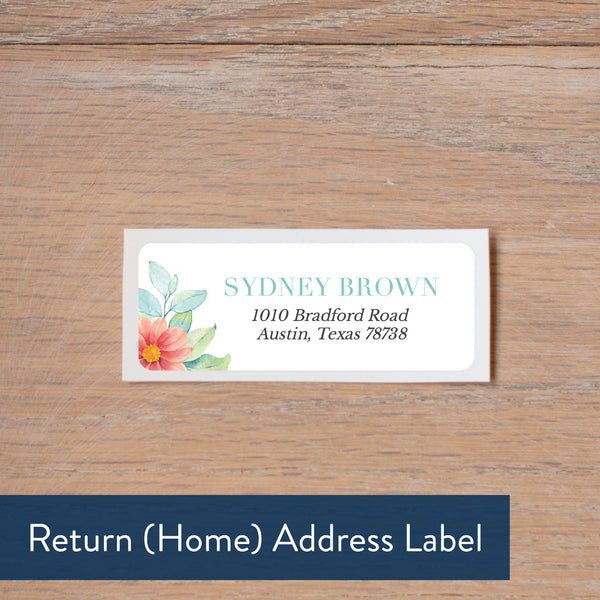 Sweet Horseshoe return address label