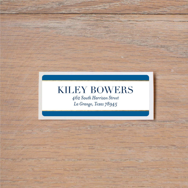 Deco Band Return (Home) Address Labels