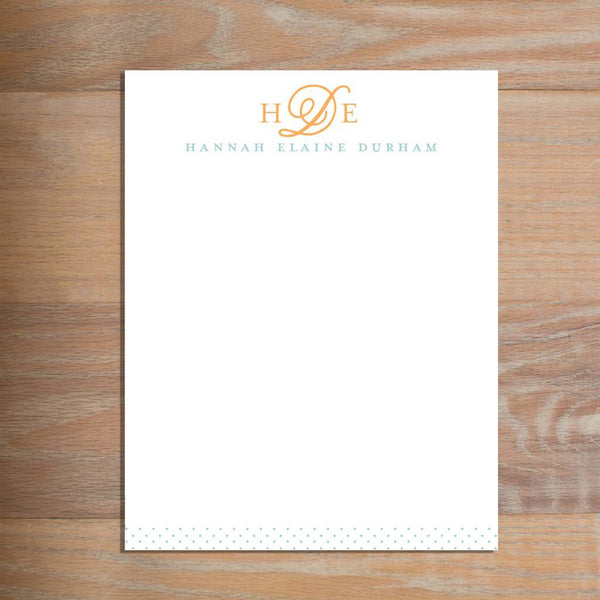 Sweet Monogram letterhead version 2