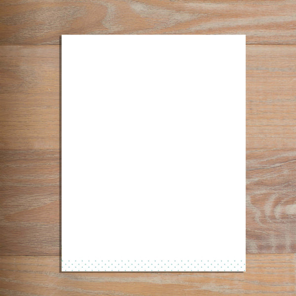 Sweet Monogram letterhead version 3