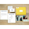 Boho Chic sorority packet shown with Curry presentation envelope