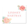 Peony Garden Personalized Folder Stickers