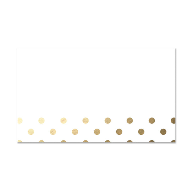 Golden Dots Mailing Labels