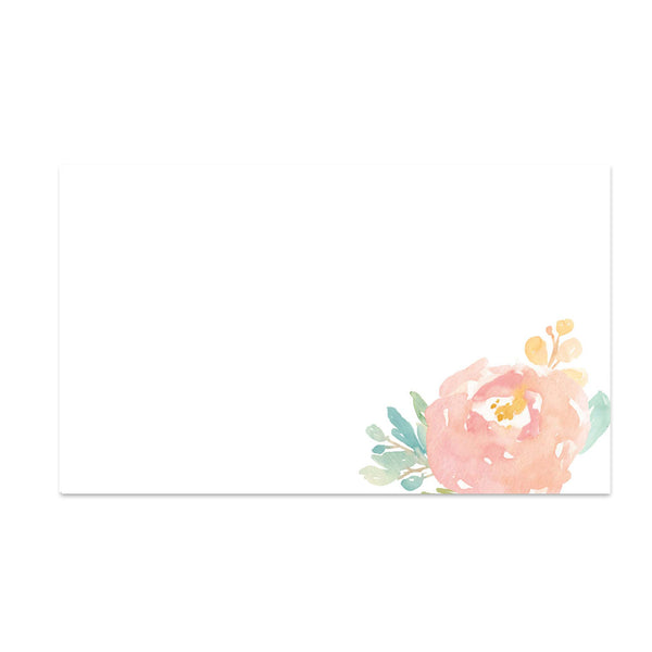 Peony Garden Mailing Labels