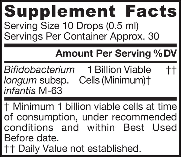 Jarro-Dophilus® Infant Supplement Facts