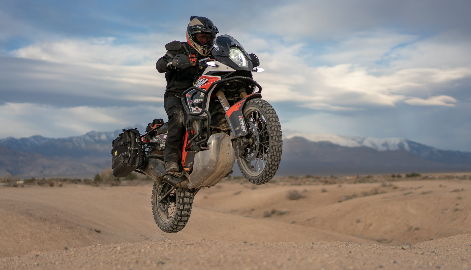 Death Valley on the KTM Twins 1090