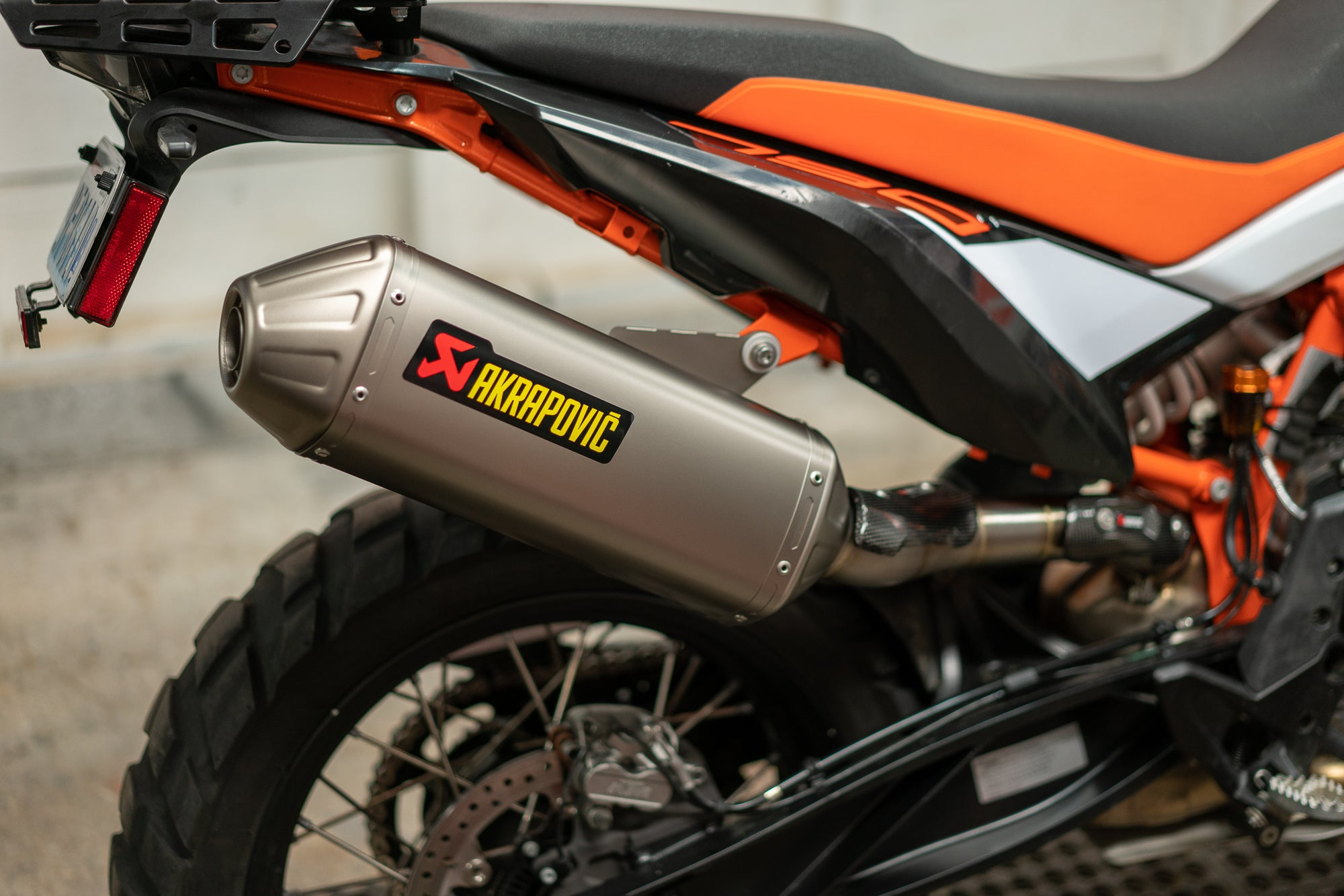 Why Your KTM 790 Adventure Needs An Akrapovic Exhaust System!