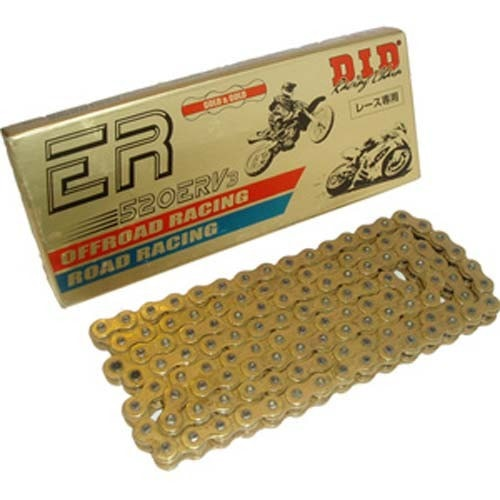 DID 520 ERV3 Gold on Gold Racing Chain KTM MX/END 1990-2017 - KTM Twins