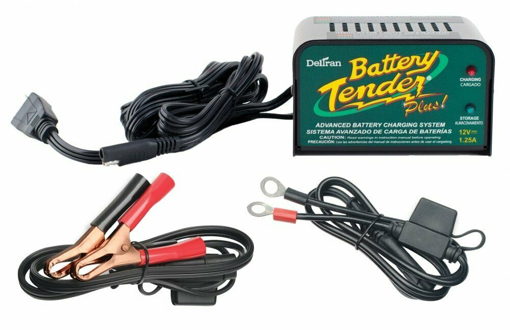 Battery Tender Plus 12V 1.25 Amp Battery Charger