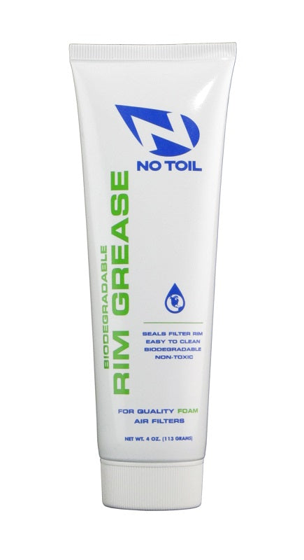 No Toil Air Filter Rim Grease Tube 4oz. (113g)