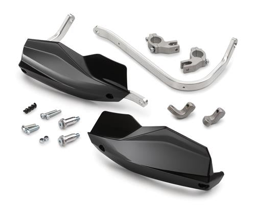 KTM Handguard Kit (Black/White) 1090/1190/1290 Adv/Super Adv/R/S/T 2013-2020