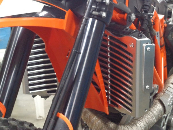 Flatland Racing Mule Radiator Guards KTM 690 Enduro & R 2008-2017 - KTM Twins
